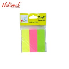 SCRIPTI TAPE FLAG NO. 07321 25X75MM NEON 80S 3S/PAD