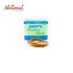 BRITE RUBBERBAND ROUND 50GMS ASSORTED COLOR