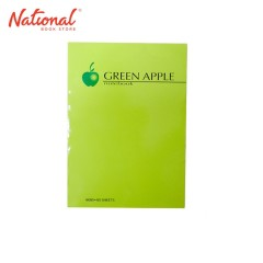 GREEN APPLE PADDED NOTEBOOK G6050 6X8.5 50S
