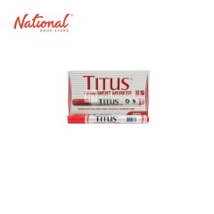 TITUS PERMANENT MARKER BULLET, 04017417 RED