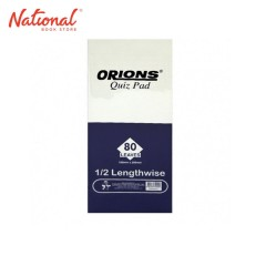 ORIONS QUIZ PAD LENGTHWISE 80S F300602013 3PCK