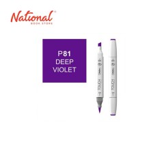 SHINHAN TWIN TIP GRAPHIC MARKER 1110081 P81 DEEP VIOLET