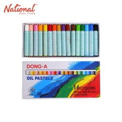 DONG-A OIL PASTEL 16 COLORS