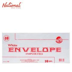 TRANSWORLD WHITE ENVELOPE NO. 10 NO. 123 10S