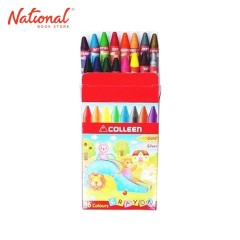 COLLEEN CLASSIC CRAYON CCY16 16 COLORS WITH SILVER AND GOLD
