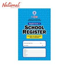 SCHOOL REGISTER BIG