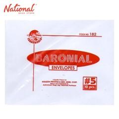 TRANSWORLD BARONIAL ENV NO. 5 5 X 4 1/8 10S