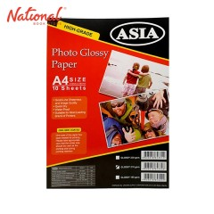 ASIA PHOTO PAPER A4 210GSM 10S GLOSSY