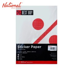 BEST BUY STICKER PAPER A4 10S MATTE