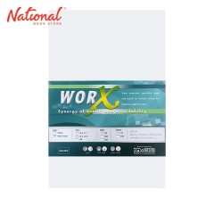 WORX FINE PAPER LONG 10S 90GSM 25PKS/BUNDLE