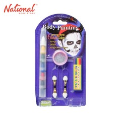 LUCKY ART FACE PAINT FWR-1G WITH GLITTER