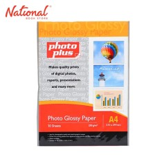 PHOTOPLUS PHOTO PAPER A4 200GSM 10S GLOSSY