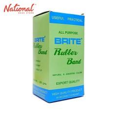 BRITE RUBBERBAND ROUND 350GMS NATURAL