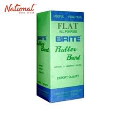 BRITE RUBBERBAND FLAT 350GMS NATURAL