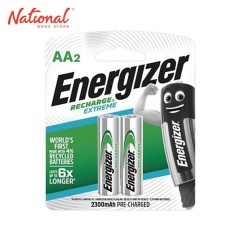 ENERGIZER BATTERY AA NHI5ERP2 RECHARGEABLE EXTREME 2S