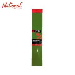 BEST BUY CREPE PAPER DARK GREEN 500X2000MM