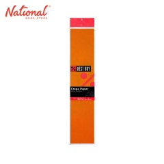BEST BUY CREPE PAPER ORANGE 500X2000MM