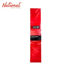 BEST BUY CREPE PAPER RED 500X2000MM