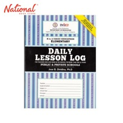 LESSON LOG DAILY KT012 ELEMENTARY