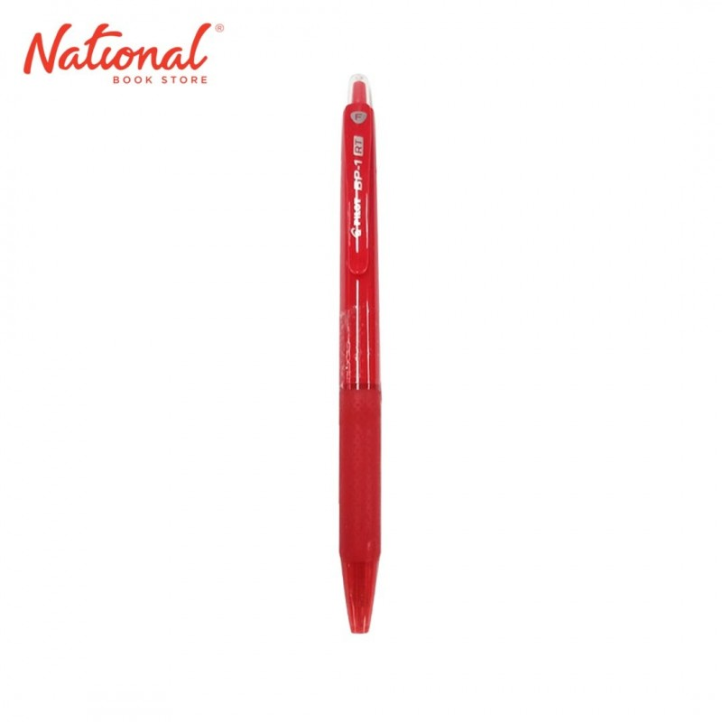 PILOT BALLPOINT RETRACTABLE BP1RT RED