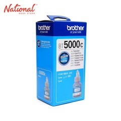 BROTHER INK BOTTLE REFILL BT5C CYAN FOR PCP T3 DCP T5W