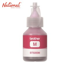 BROTHER INK BOTTLE REFILL BT5M MAGENTA FOR DCP T3 DCP T5W