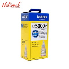 BROTHER INK BOTTLE REFILL BT5Y YELLOW FOR DCP T3 DCP T5W