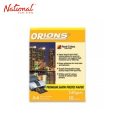 ORIONS PHOTO PAPER A4 240GSM 10S SATIN