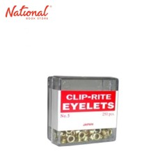 CLIPRITE FASTENER EYELET NO.5 250S GOLD