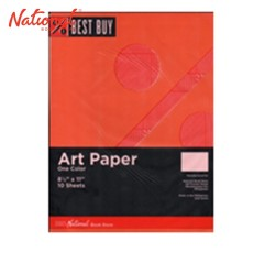 BEST BUY ART PAPER ORANGE 10S