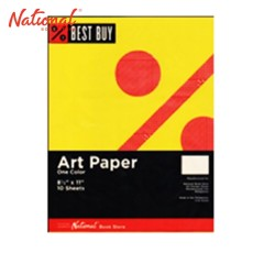 BEST BUY ART PAPER YELLOW 10S