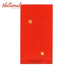 TRANSWORLD CHINESE ENVELOPE 10S RED 130GSM SMALL PLAIN