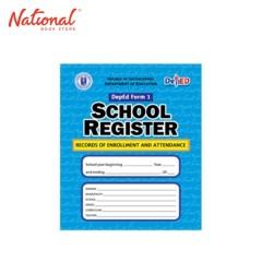 SCHOOL REGISTER SMALL