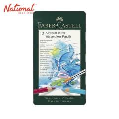 FABER-CASTELL WATERCOLOR 117512 12 COLORS METAL CASE ALBRECHT DURER PENCIL TYPE