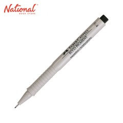 FABER CASTELL DRAWING PEN 0.4MM ECCO PIGMENT