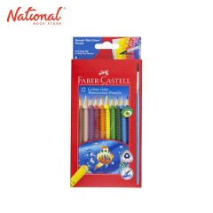FABER-CASTELL WATERCOLOR PENCIL 116242 12 COLORS WITH BRUSH
