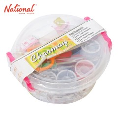 CHARMAY SEWING KIT PLASTIC CONTAINER 9 THREADS