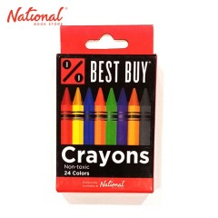 BEST BUY CLASSIC CRAYONS 24 COLORS