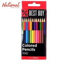 BEST BUY COLORED PENCIL 9405-12 12 CLASSIC COLORS
