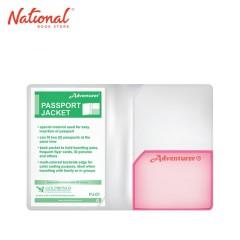 PASSPORT HOLDER & COVER PJ-01, RED