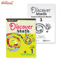 DISCOVER MATH TEXT BOOKS 1 WITH PRINTED TEACHER'S GUIDE BUNDLE 1A