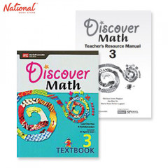 DISCOVER MATH DISCOVER MATH TEXT BOOKS 3 WITH PRINTED TEACHER'S GUIDE BUNDLE 1C