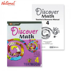DISCOVER MATH TEXT BOOKS 4 WITH PRINTED TEACHER'S GUIDE BUNDLE 1D