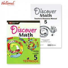 DISCOVER MATH TEXT BOOKS 5 PRINTED TEACHER'S GUIDE BUNDLE 1E