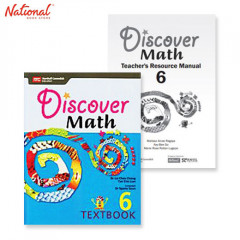 DISCOVER MATH TEXT BOOKS 6 WITH PRINTED TEACHER'S GUIDE BUNDLE 1F