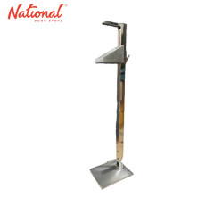 ALCOHOL DISPENSER 1 METER HEIGHT FOOT PRESS STAINLESS