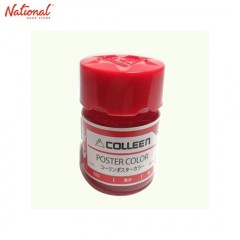 COLLEEN POSTER COLOR 11201 12ML, 11202 RED