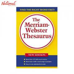 THE MERRIAM-WEBSTER THESAURUS NEW EDITION (TP)