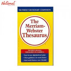 MERRIAM-WEBSTER THESAURUS