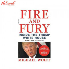 BBB FIRE AND FURY: INSIDE THE TRUMP WHITE HOUSEFIRE AND FURY TP